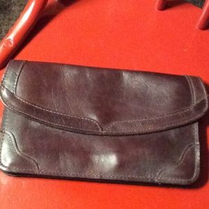 Handbags - Vintage leather clutch